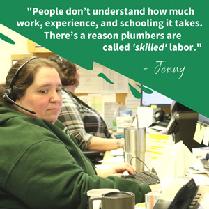D & F Plumbing staff. D & F Plumbing serving Portland OR and Vancouver WA reveals 6 secrets about the plumbing world you might not know.